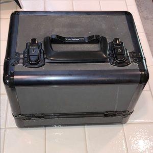 Great condition, vintage MAC cosmetics train case